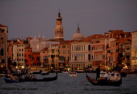 Evening Approaches the Grand Canal