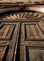 Weathered Church Doors