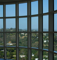 View of surrounding area from Getty Center Gallery