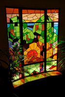 Staircase Stainglass