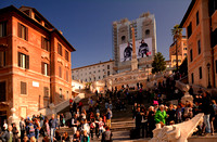 Scaling the Spanish Steps